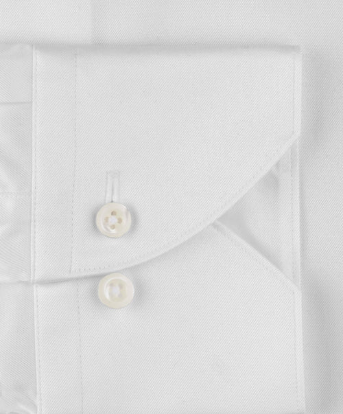 White Superslim Regular Cuff Dress Shirt