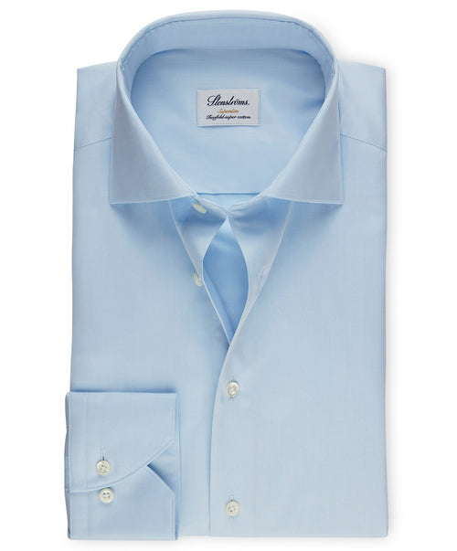 Sky Blue Superslim Regular Cuff Dress Shirt