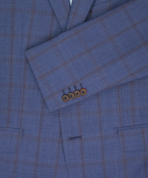 Marinello Blue Tonal Check Suit