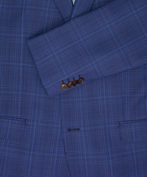 Cobalt Blue Soft Check Suit