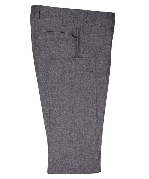Academy Salt'n'Pepper Medium Grey Textured Dress Pants