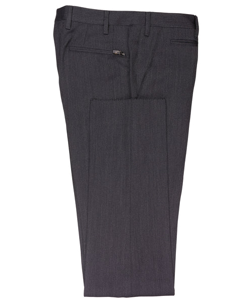 Academy Charcoal Fine Twill Dress Pants