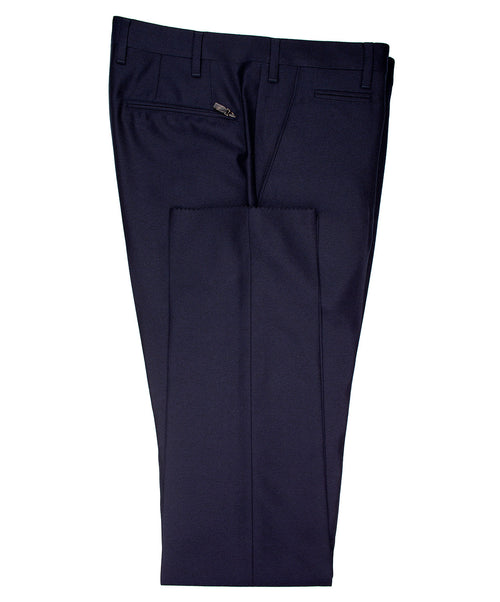 Academy Navy Textured Dress Pants
