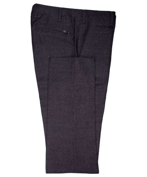 Academy Charcoal Pepita Check Dress Pant