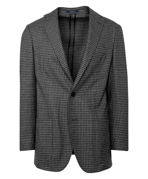 Earthy-Grey/Loden Check Jacket