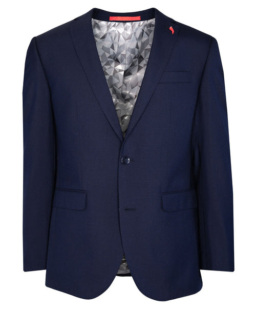 Royal Blue Stretch 3-Piece Suit