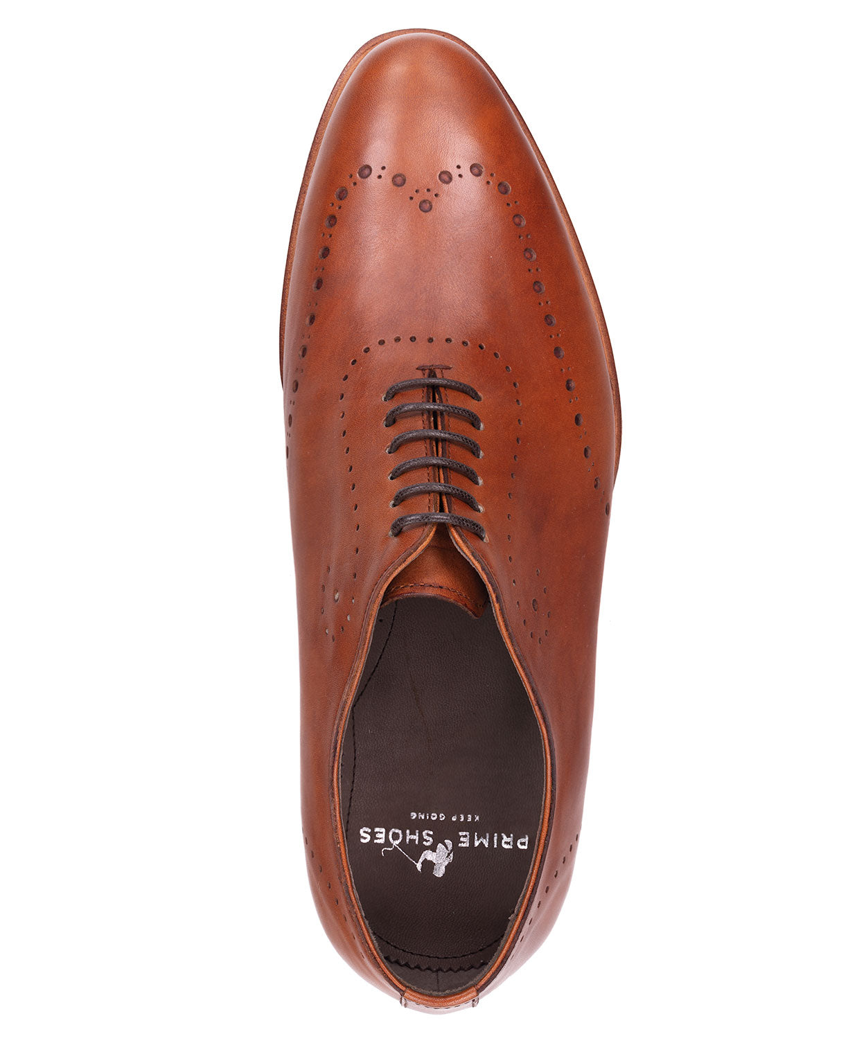 Bari Crust Cognac Dress Shoe