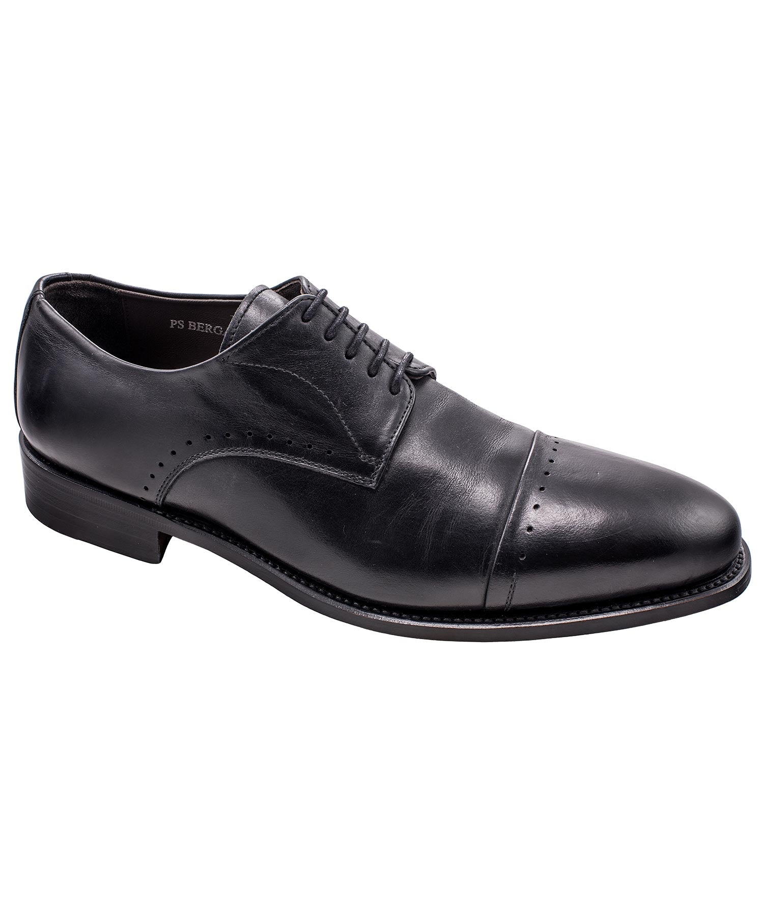 Bergamo Calf Black Dress Shoe