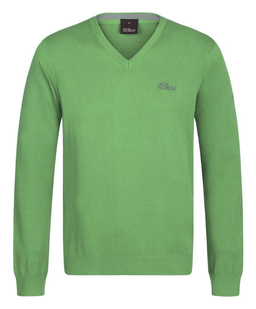 Bobby Tour Evergreen V-Neck Sweater