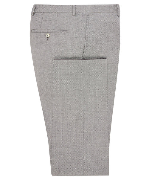 "Buck Putty Grey Mini Nailhead ""Wet Elements"" Separates Pant"