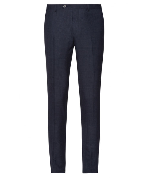 Bull Split Blue Tonal Glen Check Separates Pant