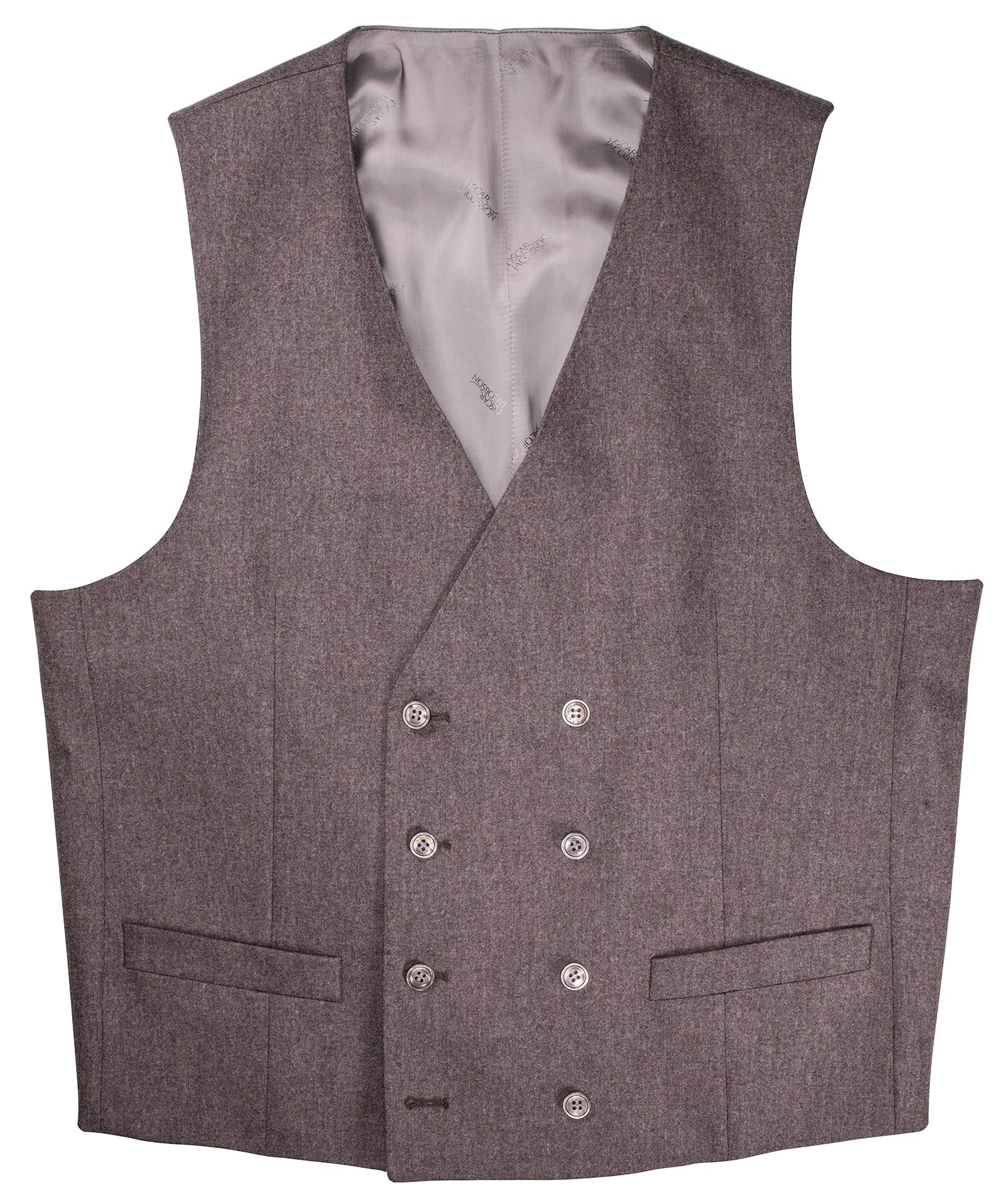 Camden Sandy Taupe Double Breasted Vest