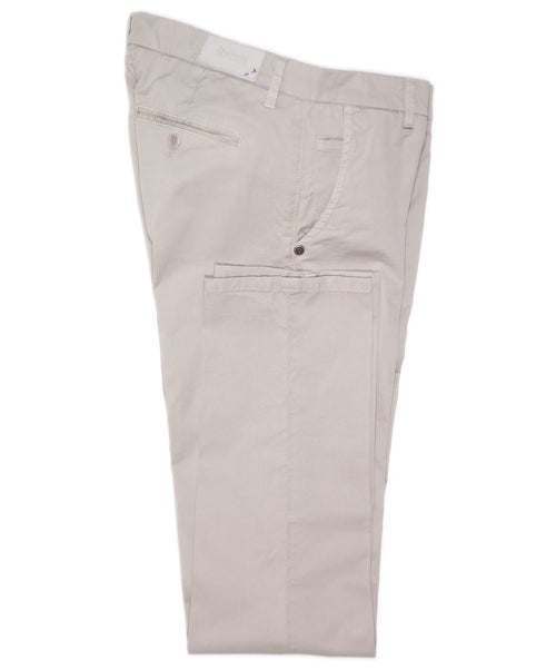 Olive Solid Light Stretch Leisure Pants