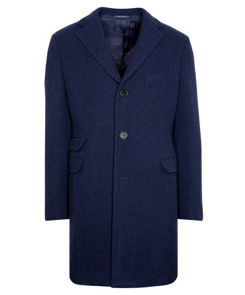 Charles Navy Top Coat