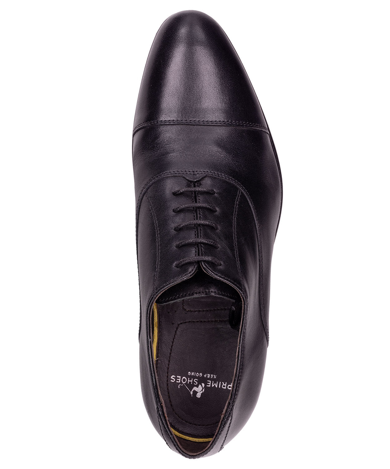Black Comfort Flex Sole Dress Shoes