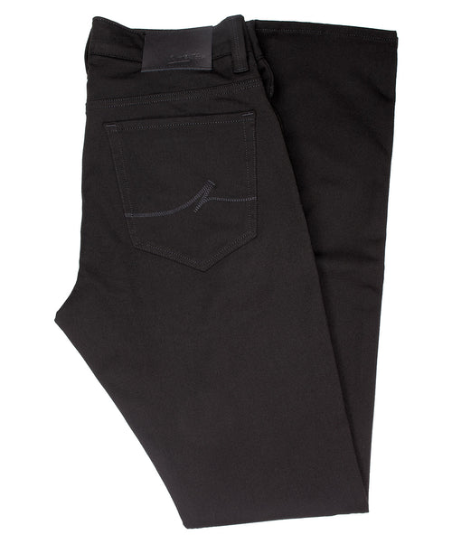 Cool Black Winter Cashmere Leisure Pant