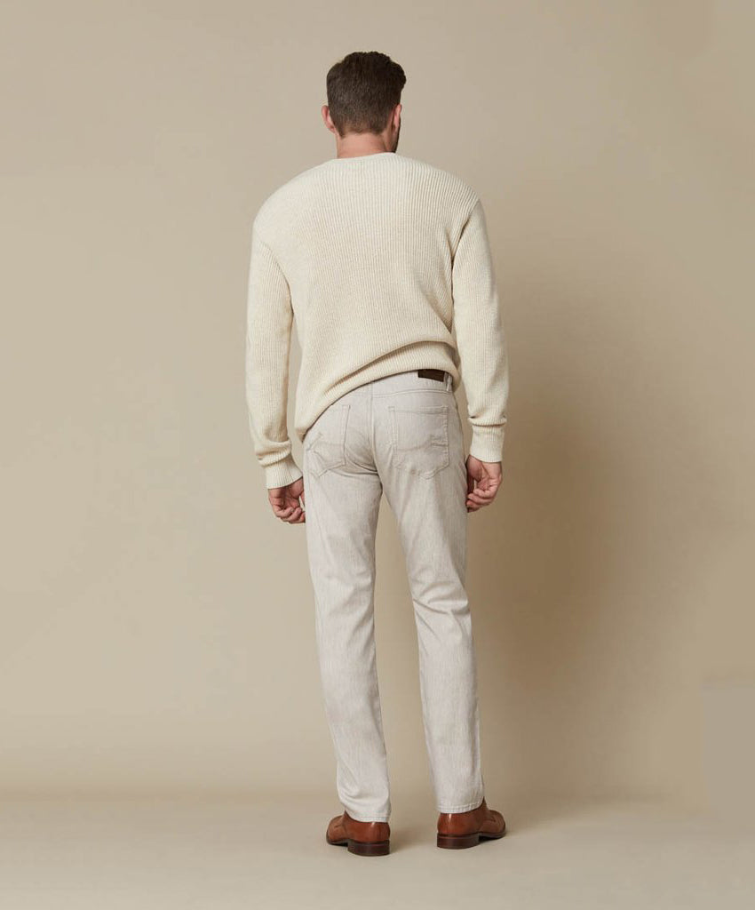 Cool Beige Cashmere Leisure Pants