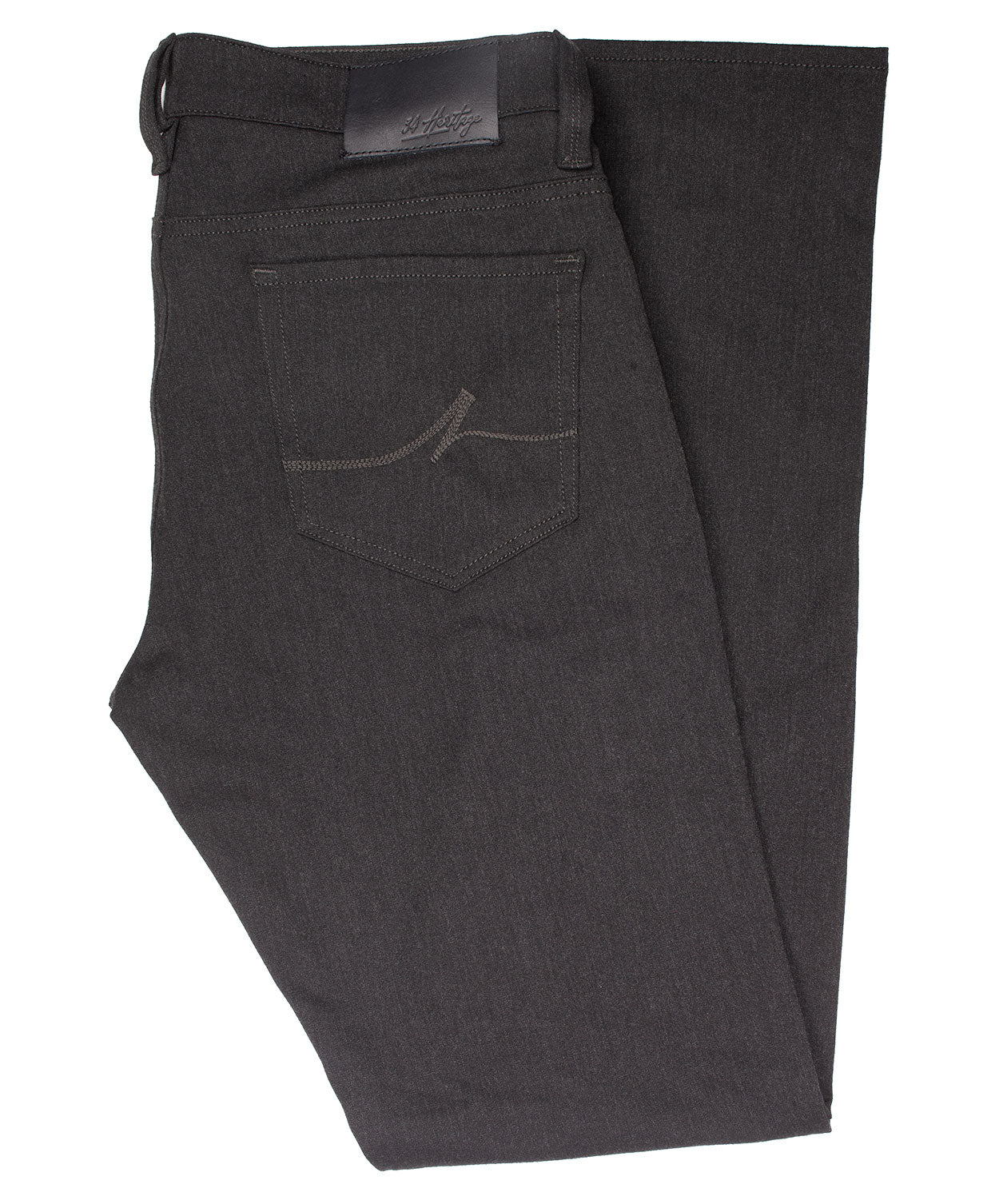 Cool Charcoal Winter Cashmere Leisure Pant