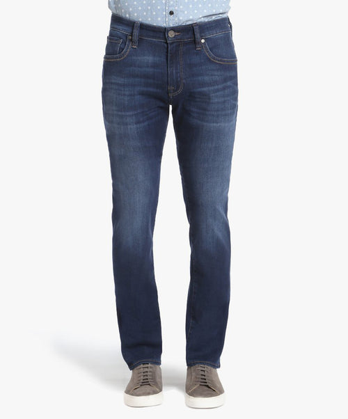 Cool Deep Tencel Blue Stretch Jean