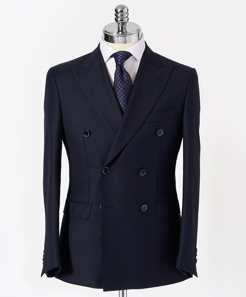 Dave Navy 3x2 Double Breasted Separates Blazer