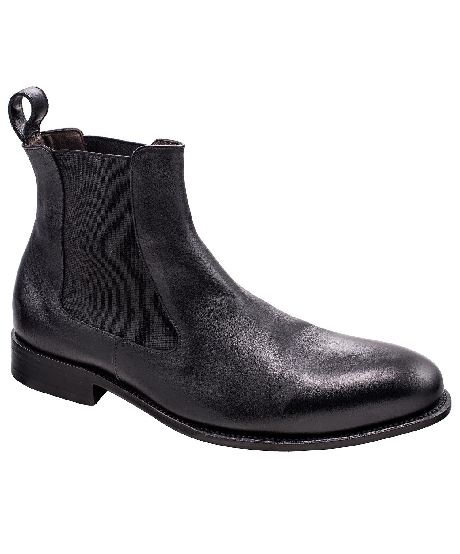 Diego Black Chelsea Boot