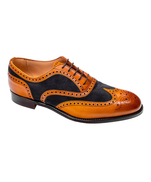 Edwin 125 Last F Two Tone Chesnut/Navy