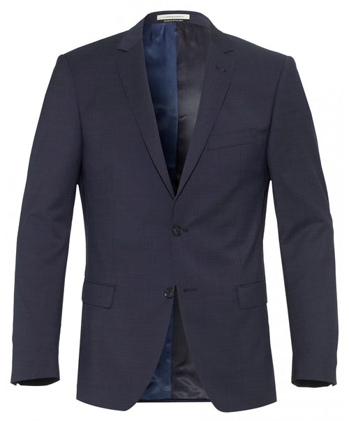 Ellis Blue Shark Skin Effect Blazer