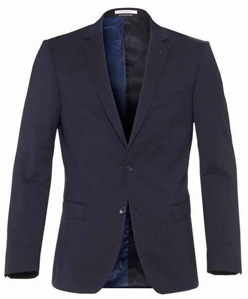 Ellis Navy Solid Blazer