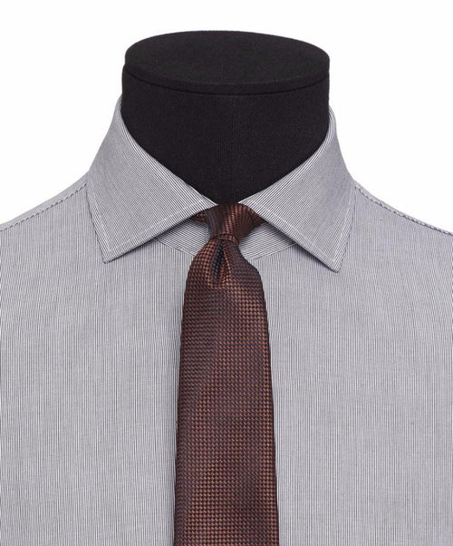 Ellington Black Micro Pattern Dress Shirt