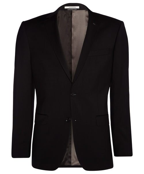 Ellis Black Solid Blazer