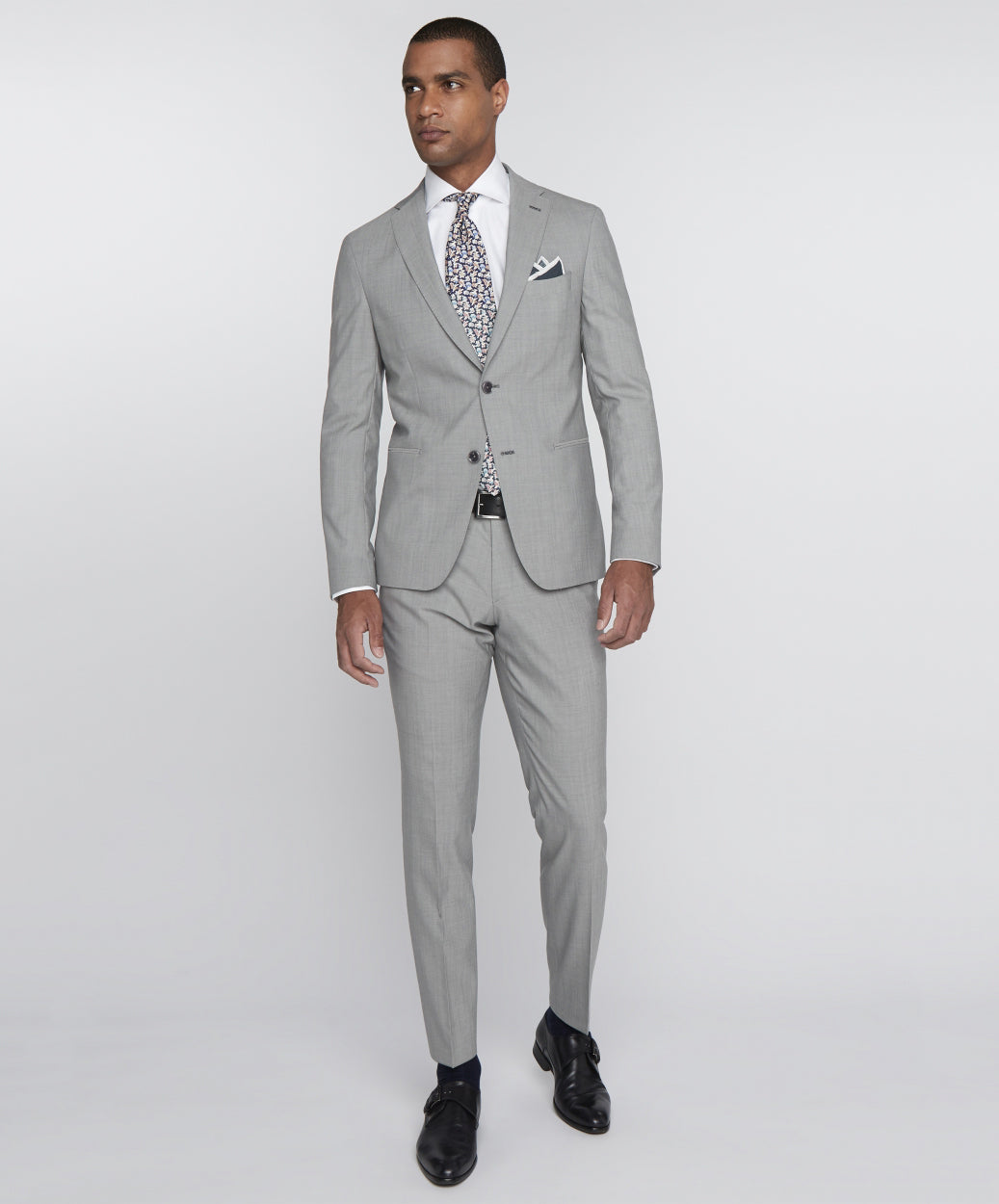Elray Welt-Clay Pearl Grey Suit