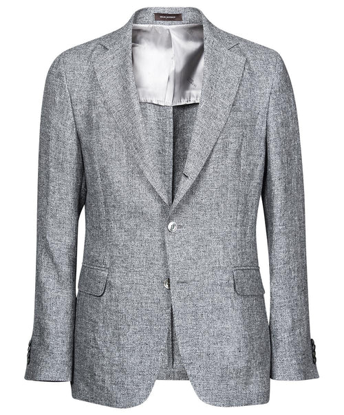 "Evens Grey Salt'n""Pepper Pattern Jacket"