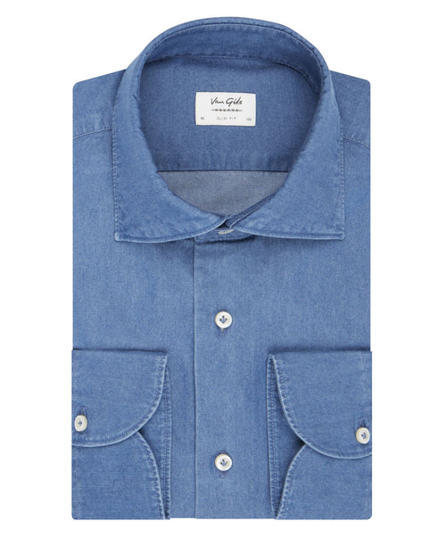 Exan Denim Blue Shirt