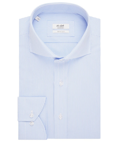 Extreme Baby Blue Bengal Stripe Dress Shirt