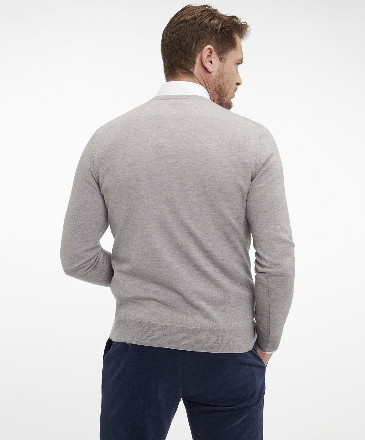 Gant Light Grey Sweater
