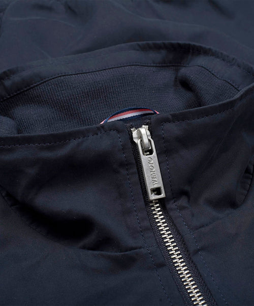 Grain Navy Harrington Jacket