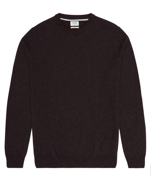 Harry Dark Red Crew-Neck