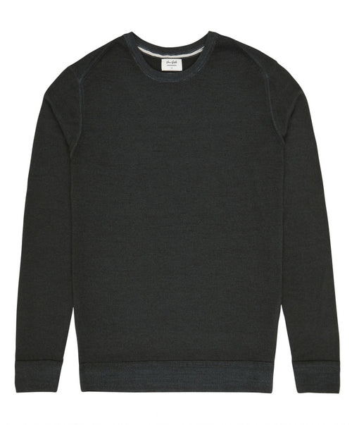 Harper Dark Green Crew-Neck