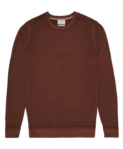 Harper Brown Crew-Neck