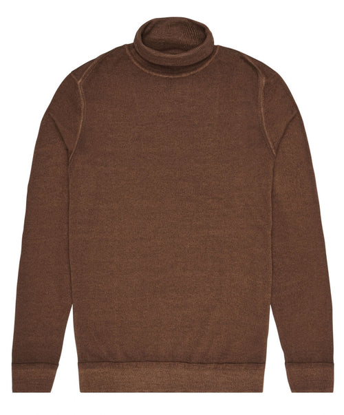 Hayden Rust Turtleneck Sweater
