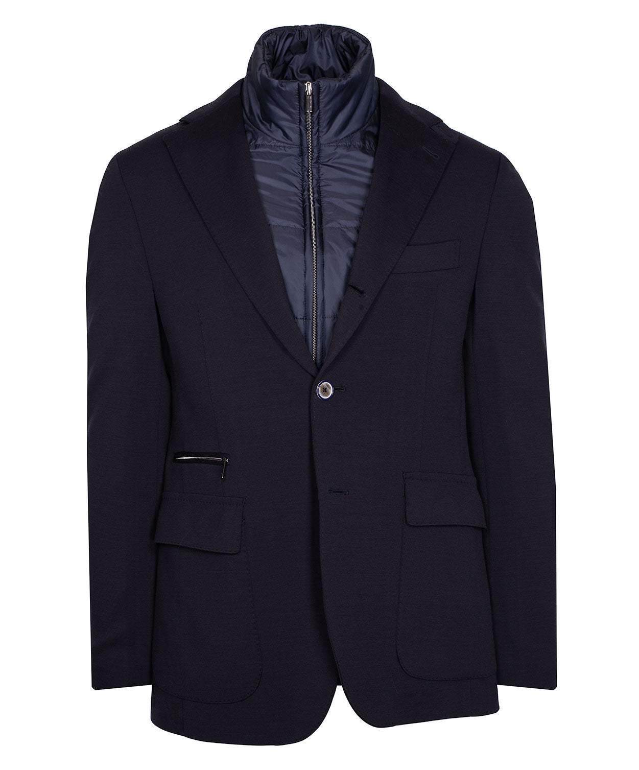 Tristan Travel  Navy Hybrid Jacket