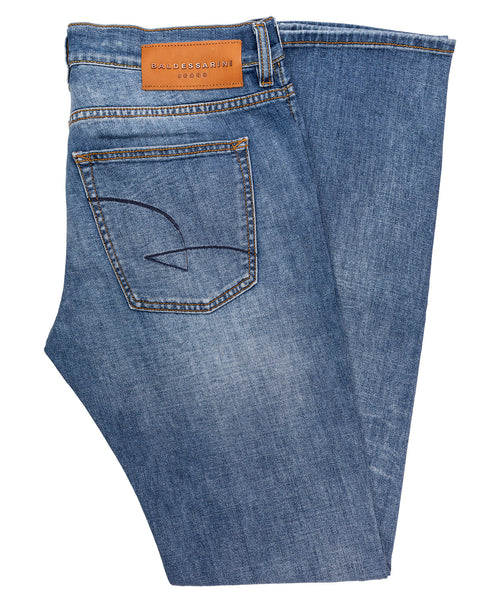 John Light Blue Wash Jean