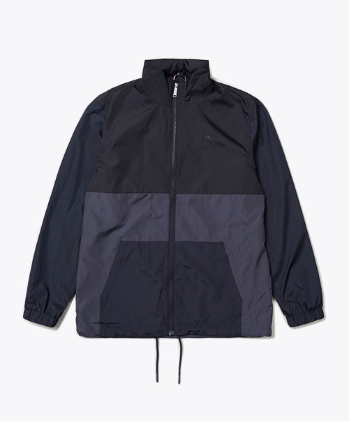 Navy Blue Full Zip Bomber