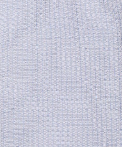 Milano Sky Blue Textured Mini Pattern Dress Shirt