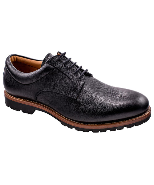 Moskau Buffalo Black Casual Shoe
