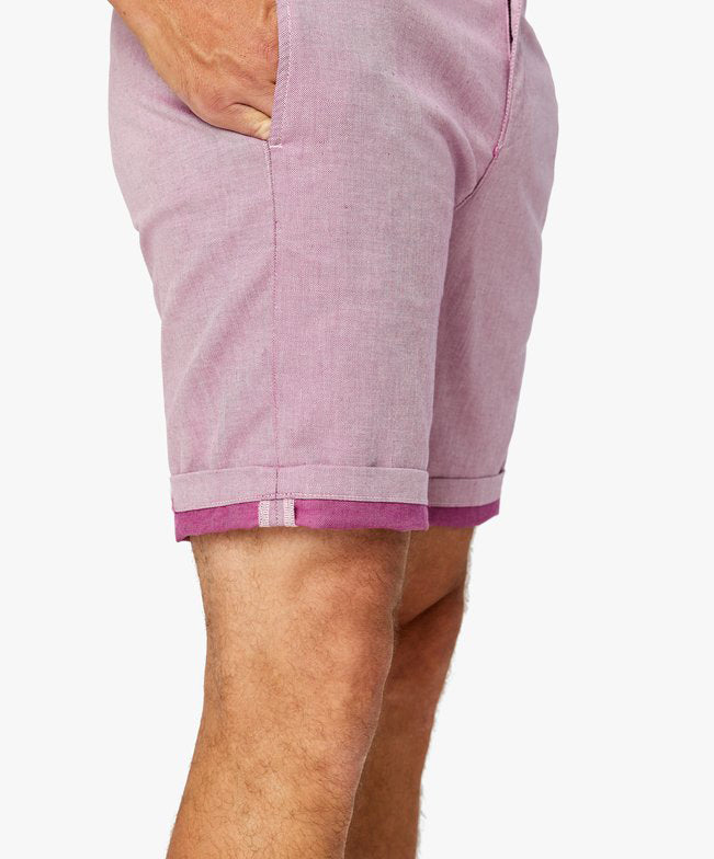 Nevada Berry Luxe Reveresed Shorts