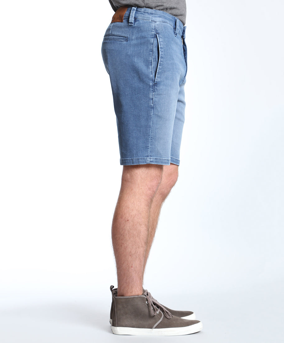Nevada Lt Indigo Sporty Fade Shorts