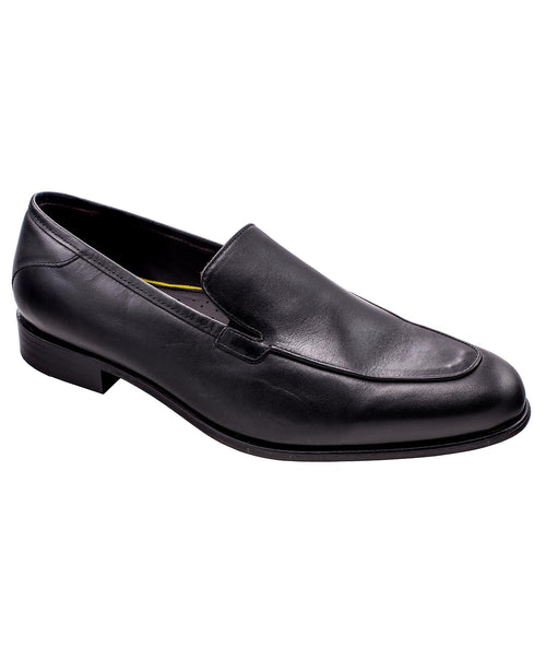 Black Slip-On Dress Shoes