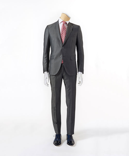 Owen-Paul Mid Grey Hi-Lustre Semi-Solid Suit
