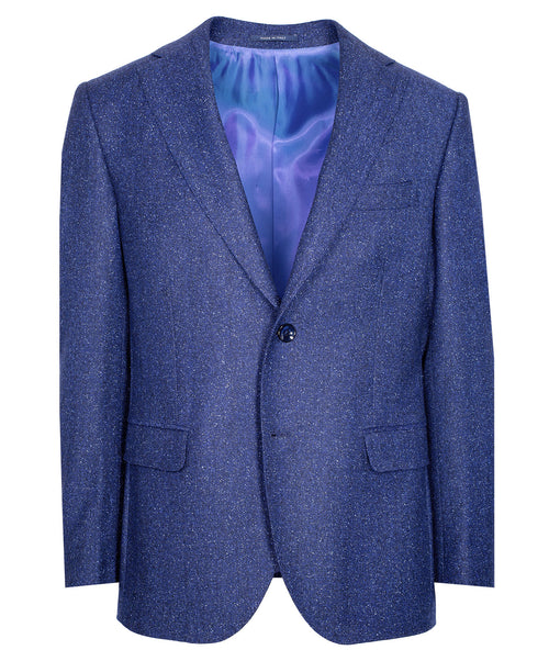 Owen Royal Blue Herringbone Jacket